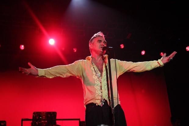Morrissey se apresenta em São Paulo no Espaço das Américas (Foto: Photo Rio News/ Manuela Scarpa)