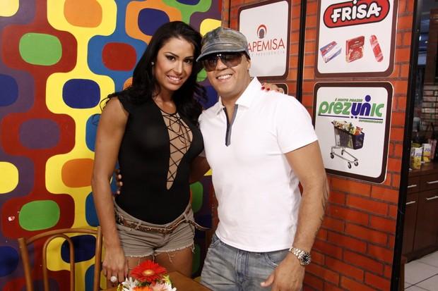 Belo e Gracyanne (Foto: Felipe Assumpção  / AgNews)