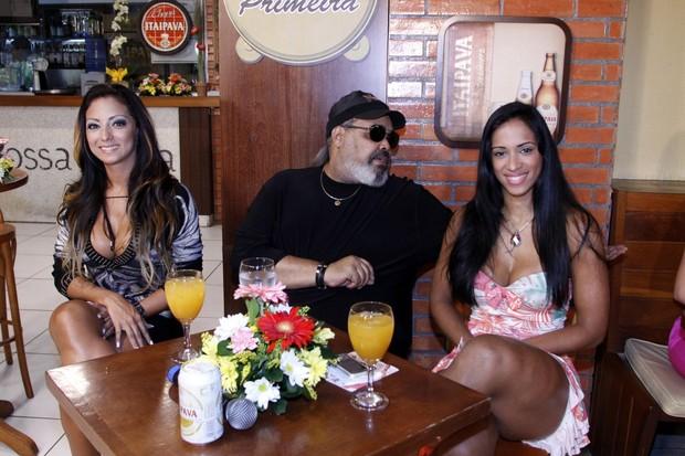 """Gravação do programa """"Samba de Primeira"""" (Foto: Felipe Assumpção  / AgNews)"""