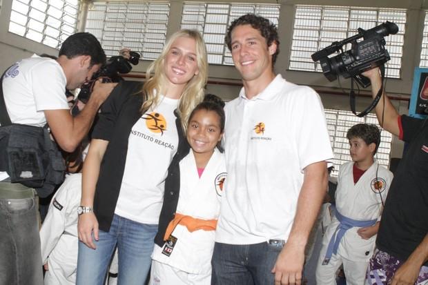 Fiorella Mattheis e Flavio Canto (Foto: Raphael Mesquita/Photorio News)