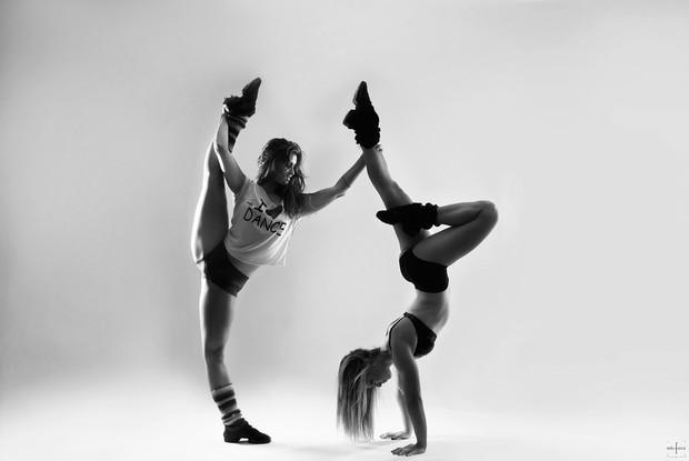 Bailarinas do Faustão em ensaio fotográfico (Foto: Edu Fuica / Divulgação)