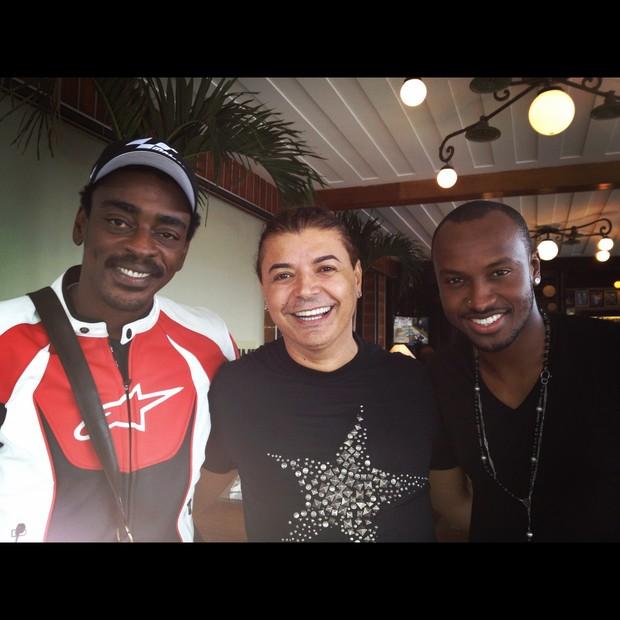 Seu Jorge, Daviv Brazil e Thiaguinho (Foto: Divulgação / Divulgação)