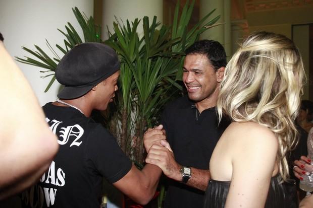 Ronaldinho Gaúcho em festa no Rio (Foto: Philippe Lima e Felipe Panfili / Ag. News)