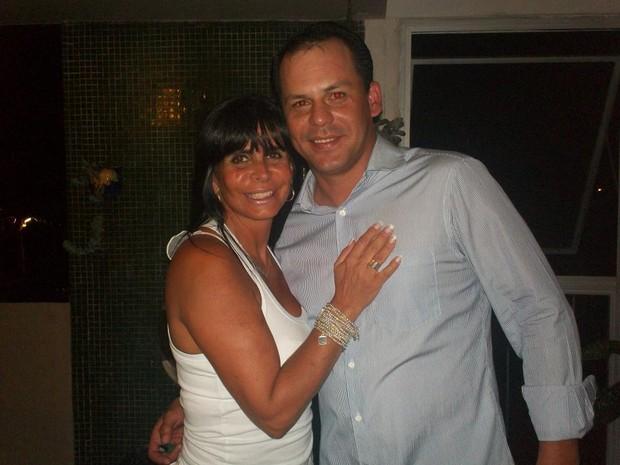 Gretchen e Tulio, o novo namorado (Foto: Reprodução/Facebook)