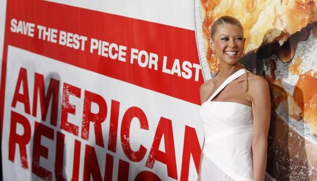 Tara Reid na première de 'American Pie – O reencontro' em Los Angeles, nos Estados Unidos (Foto: Reuters/ Agência)