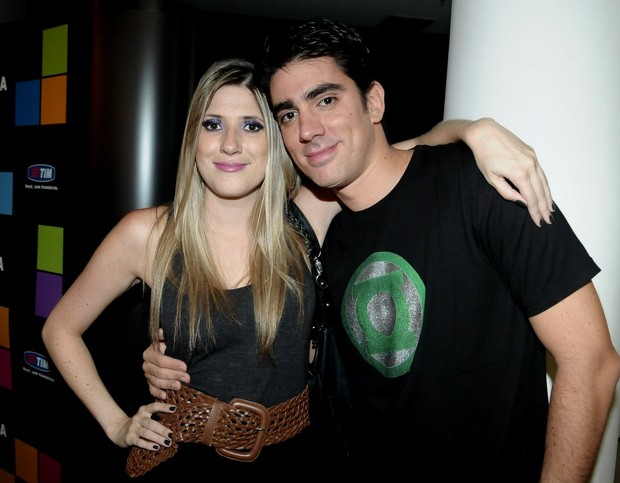 Marcelo Adnet with beautiful, sweet, nice, Wife Dani Calabresa
