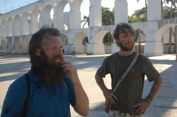 Kayky Brito nas filmagems do filme 'Finding Josef' (Foto: Onofre Veras / AgNews)