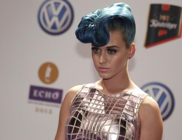 Katy Perry no tapete vermelho do Echo Music Awards, em Berlim (Foto: Reuters / Agência)