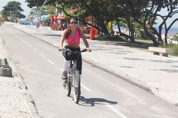 Renata Santos no Rio (Foto: Fabio Martins/AgNews)