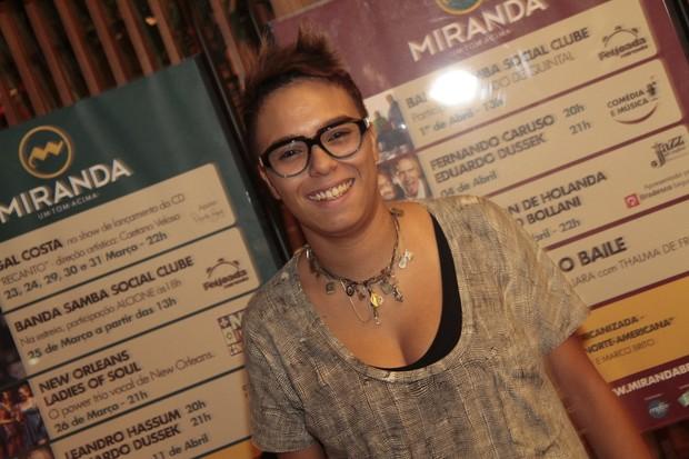 Maria Gadú no show de Gal Costa no Rio (Foto: Isac luz / EGO)