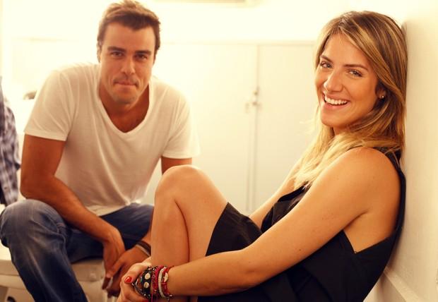 Giovanna Ewbank e Joaquim Lopez (Foto: Marcos Serra Lima / EGO)