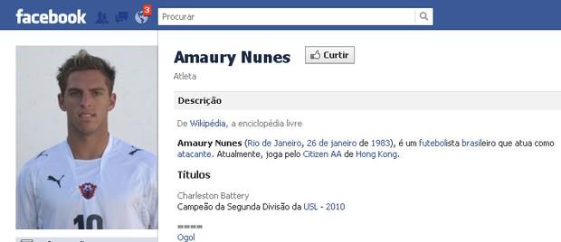Amaury Nunes (Foto: Reprodução/Facebook)