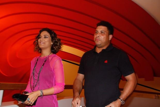 Bia e Ronaldo (Foto: Amauri Nehn/ AgNews)