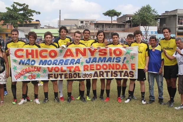 Artistas homenageiam Chico Anysio (Foto: Cleomir Tavares / Divulgação)
