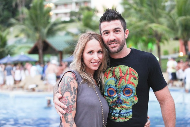 Cristiano e Renata Cassol (Foto: Adriel Douglas/Divulgação)