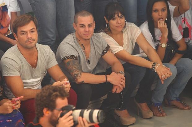Namorado de Jennifer Lopez no programa de Rodrigo Faro (Foto: Iwi Onodera / EGO)