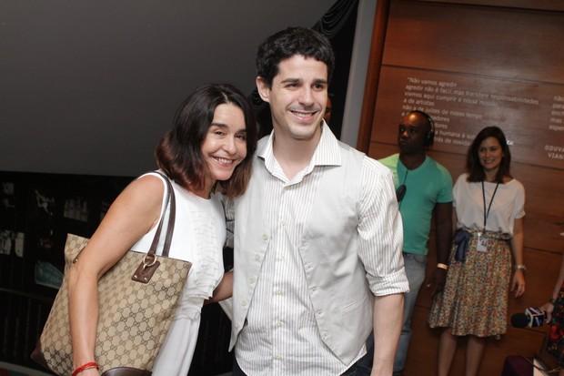 Lucélia Santos e Pedro Neschling no 6º Prêmio Zilka Sallaberry (Foto: Raphael Mesquita / Photo Rio News)