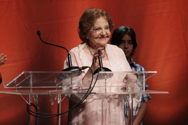 Eva Todor no 6º Prêmio Zilka Sallaberry (Foto: Raphael Mesquita / Photo Rio News)