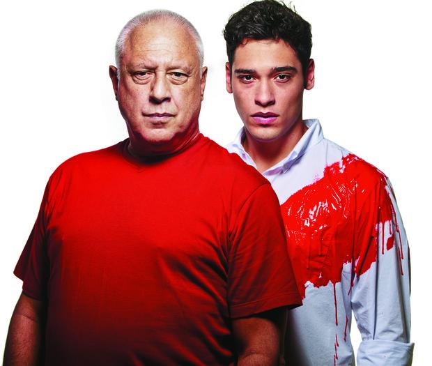 Antonio Fagundes e Bruno (Foto: Daniel Klajmic/Revista Bravo!)