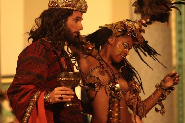 Mohamed Harfouch em 'A Paixão de Cristo' (Foto: Clélio Tomaz/Ag. News)