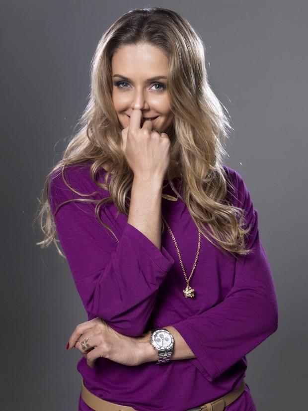 Bianca Rinaldi posa para revista (Foto: Revista VOi / Divulgação)