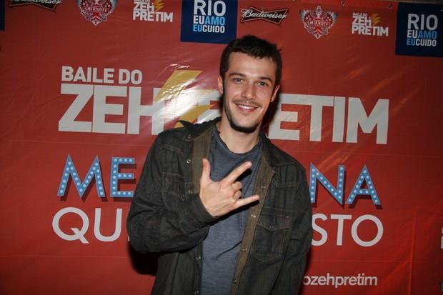 Jayme Matarazzo em festa no Rio (Foto: Daniel Delmiro/Ag News)
