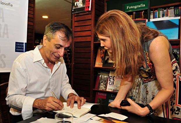 Antonio Cicero e Maria Padilha (Foto: J. Egberto/Divulgação)