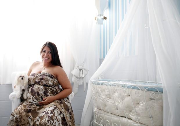 Priscila Pires mostra o quarto do filho Gabriel (Foto: Marcos Serra Lima/EGO)