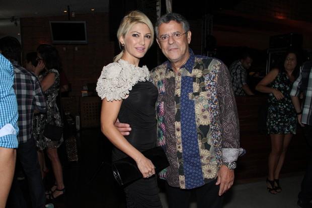 Antônia Fontenelle e Marcos Paulo em show no Rio (Foto: Thyago Andrade/ Photo Rio News)