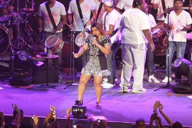 Preta Gil faz show no Rio (Foto: Anderson Borde/ Ag. News)