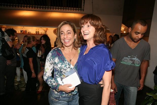 Cissa Guimarães e Zezé Polessa em estreia de peça no Rio (Foto: André Muzell/ Ag. News)
