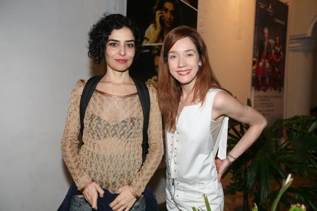 Letícia Sabatella e Camila Morgado em estreia de peça no Rio (Foto: André Muzell/ Ag. News)