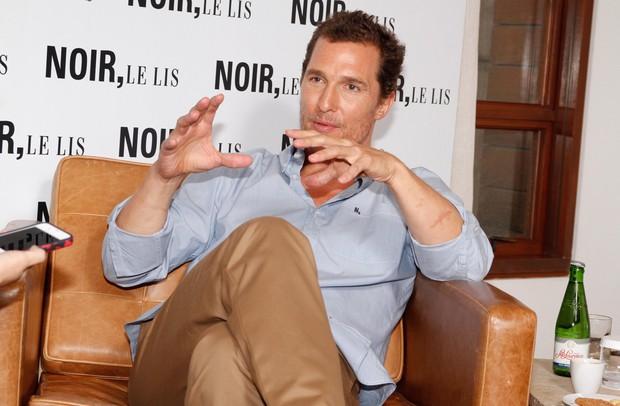 Matthew McConaughey em São Paulo (Foto: Delson Silva e Danilo Carvalho / Ag News)