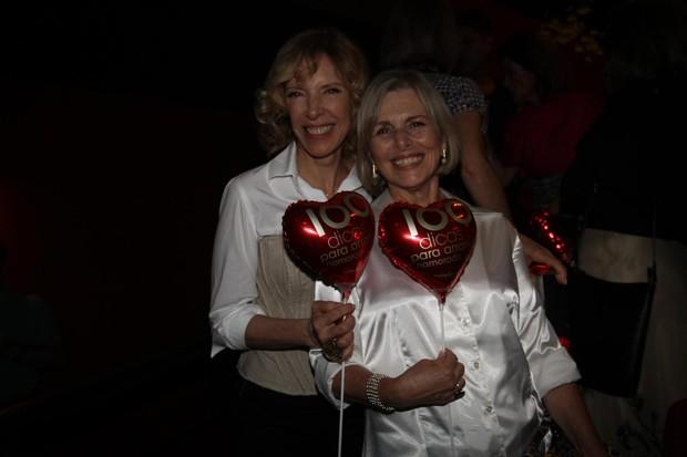 Marília Gabriela e Irene Ravache em estreia de peça em São Paulo (Foto: Manuela Scarpa/ Photo Rio News)