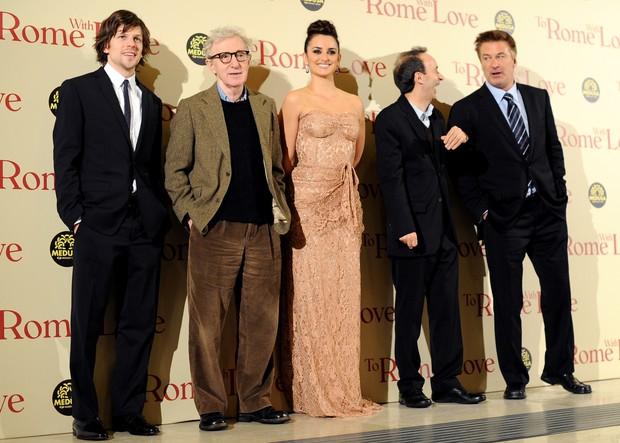 Penélope Cruz lança filme de Woody Allen, 'To Rome With Love', em Roma, na Itália (Foto: AFP)