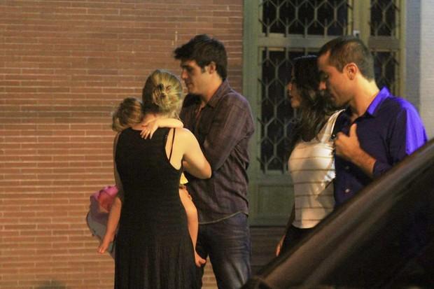 Fernanda Rodrigues, Raoni Carneiro, Ricardo Pereira e a esposa (Foto: Rodrigo dos Anjos / AgNews)