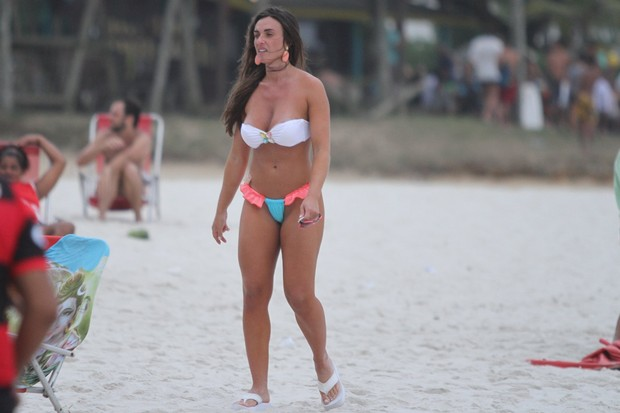 Nicole Bahls (Foto: Clayton Militão / Photo Rio News)