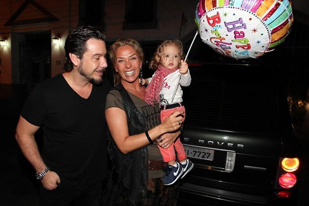 Adriane Galisteu comemora aniversário (Foto: Manuela Scarpa / Photo Rio News)