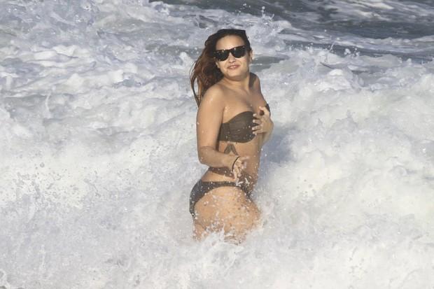 Demi Lovato (Foto: Delson Silva e Gabriel Reis/agnews)