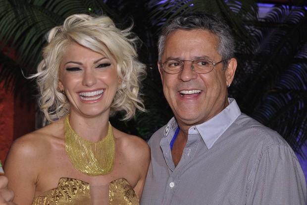 Antônia Fontenelle e Marcos Paulo (Foto: Roberto Teixeira/EGO)