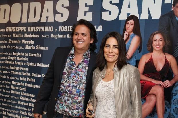 Glória Pires e Orlando Moraes  (Foto: Anderson Borde / AgNews)