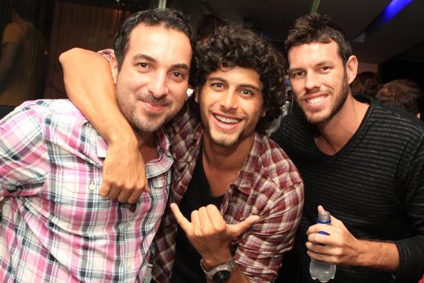 GraltonBeiral, Jesus Luz e DiegoAguiar (Foto: Raphael Mesquita / Divulgação)