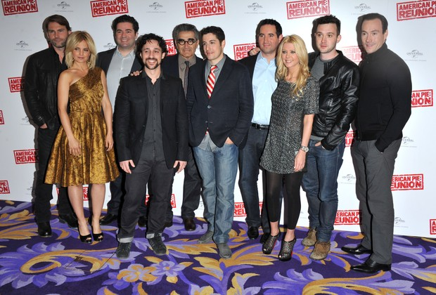 "Elenco de ""American Pie"" (Foto: Agência/Getty Images)"