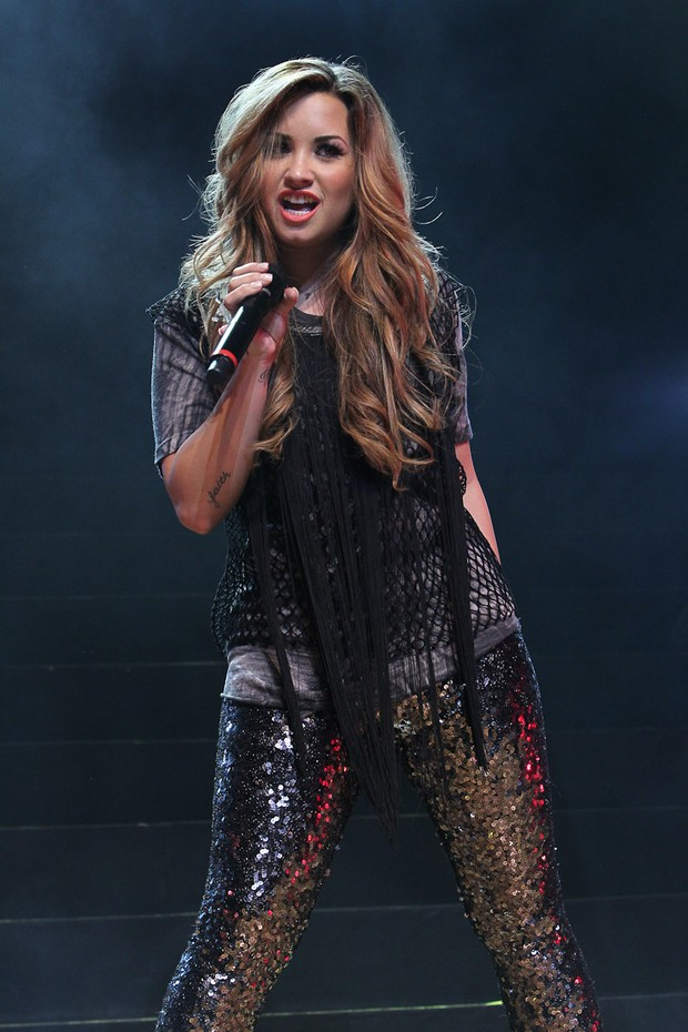 Demi Lovato (Foto: Manuela Scarpa/Photo Rio News)
