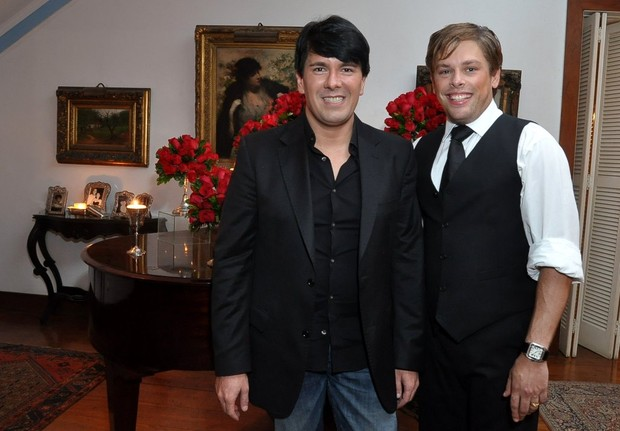 André Ramos e Bruno Chateaubriand (Foto: Roberto Teixeira / EGO)