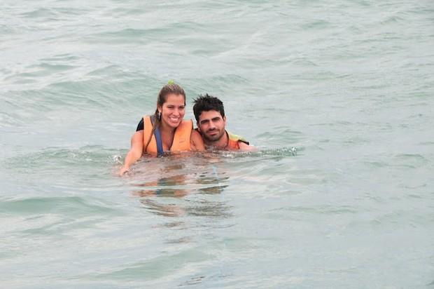 Adriana e Rodrigão (Foto: Reprodução/arquivo pessoal)