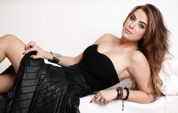 Rayanne Morais, namorada do Latino, posa para o EGO (Foto: Marcos Serra Lima / EGO)