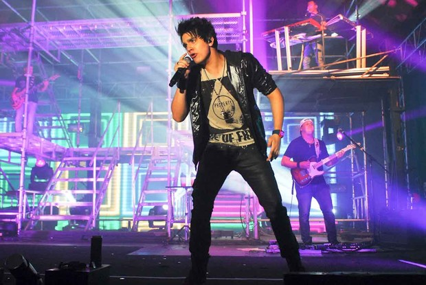 Luan Santana faz show em São Paulo (Foto: Celso Akin/ Ag. News)