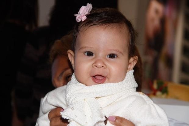 Filha da cantora Aline Barros (Foto: Amauri Nehn / AgNews)