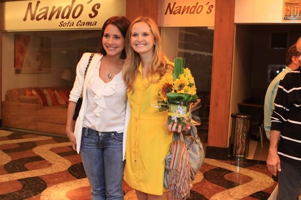 Fernanda Rodrigues e Juliana Knust (Foto: Raphael Mesquita/Photorio News)